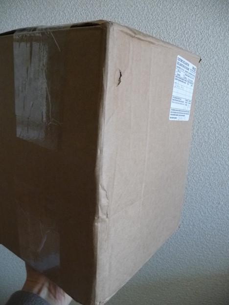 写真: CRCから荷物が届いた