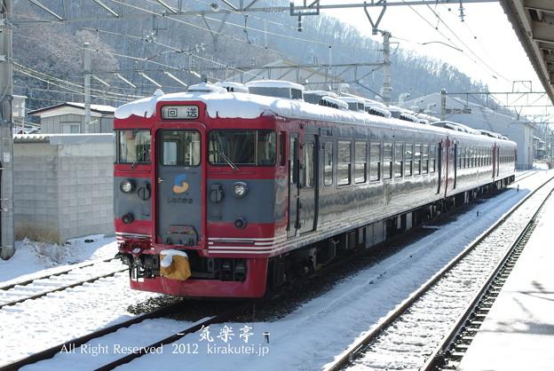 写真: しなの鉄道169系