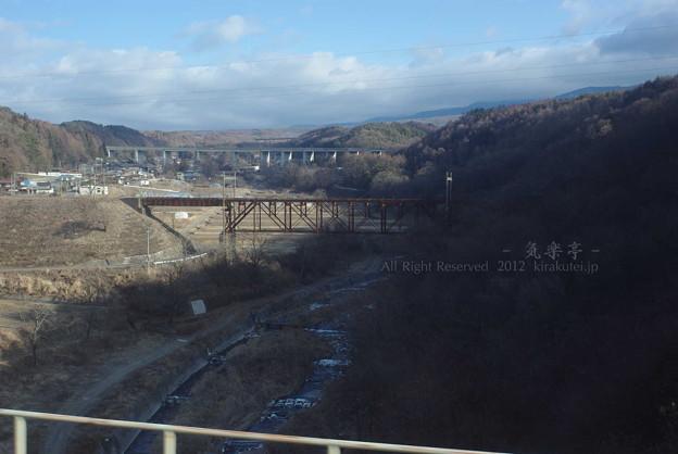 写真: 中央東線旧線