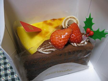 モリモトのケーキ