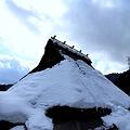 美山の里は雪のなか