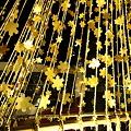 金箔のツリー(2)   雪の結晶 キラキラ☆ミ