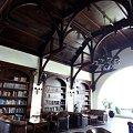 写真: ホテル・グランド・サルツショーバーゲン、ラウンジ。本がたくさん!!