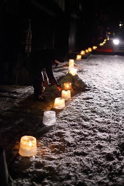 木曽路の人々`12(冬の奈良井宿編)-6