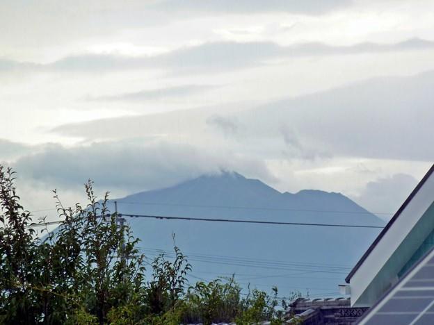 台風通過後の霧島
