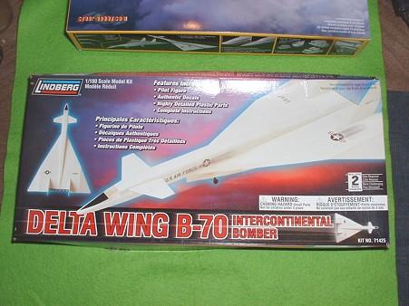 リンドバーグ180分の1「XB-70バルキリー」