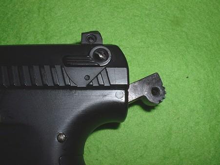 「ワルサー P22」 セフティー部モールド追加加工 Doburoku-TAO