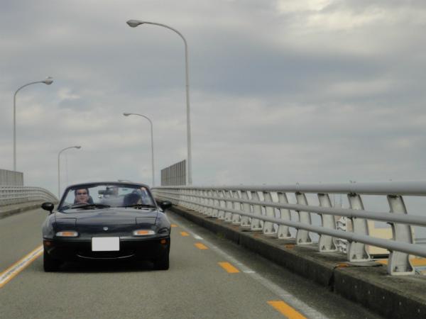 橋を渡ればおはガレ会場は直ぐ近くのはず