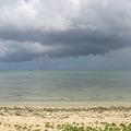 写真: ココス島ビーチからの眺め