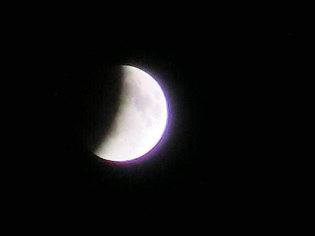 Photos: 皆既月食じわりじわり